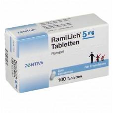 RAMILICH 5 mg Tabletten 100 St
