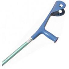 UNTERARMSTÜTZE f.Erwachsene blau Leichtmetall 1 St