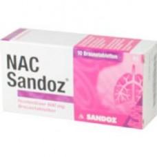NAC SANDOZ HUSTEN600MG BTA**
