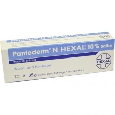 PANTEDERM N HEXAL Wund- und Heilsalbe 35 g