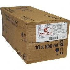 KOCHSALZLÖSUNG 0,9% Glasfl.Fresenius 10X500 ml