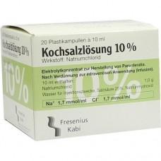KOCHSALZLÖSUNG 10% Infusionslösungskonzentrat 20X10 ml