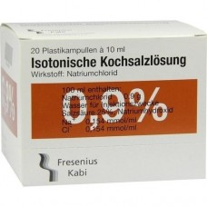KOCHSALZLÖSUNG 0,9% Pl.Fresenius Inj.-Lösung 20X10 ml