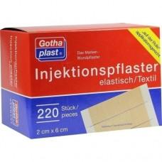 GOTHAPLAST Injektionspfl.2x6 cm 220 St