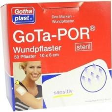 GOTA-POR Wundpflaster steril 60x100 mm 50 St