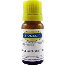 HOMEDA Red Chestnut C 12 Globuli 10 g