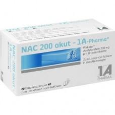 NAC 200 akut 1A Pharma Brausetabletten 20 St