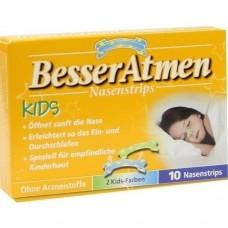 BESSER Atmen Kids Pflaster 10 St