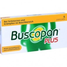 BUSCOPAN plus Suppositorien 5 St