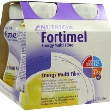 FORTIMEL Energy Multi Fibre Vanillegeschmack 4X200 ml