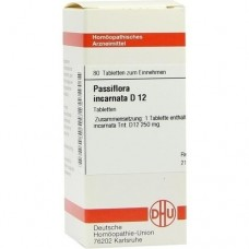 PASSIFLORA INCARNATA D 12 Tabletten 80 St