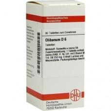 OLIBANUM D 6 Tabletten 80 St