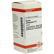 BARIUM CARBONICUM D 12 Tabletten 80 St