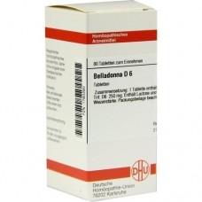 BELLADONNA D 6 Tabletten 80 St