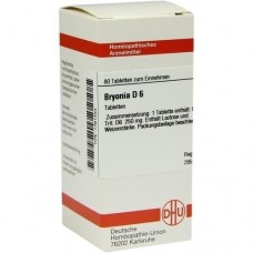 BRYONIA D 6 Tabletten 80 St