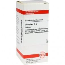 COCCULUS D 6 Tabletten 80 St