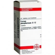 FERRUM PHOSPHORICUM D 12 Tabletten 80 St
