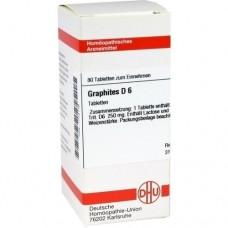 GRAPHITES D 6 Tabletten 80 St