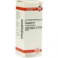 PULSATILLA D 6 Dilution 20 ml