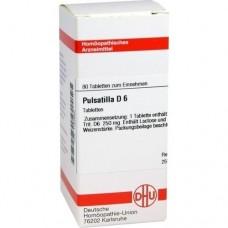 PULSATILLA D 6 Tabletten 80 St