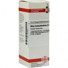 RHUS TOXICODENDRON D 6 Dilution 20 ml