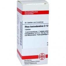 RHUS TOXICODENDRON D 12 Tabletten 80 St