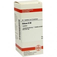 SILICEA D 30 Tabletten 80 St