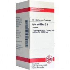 APIS MELLIFICA D 6 Tabletten 80 St