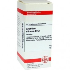ARGENTUM NITRICUM D 12 Tabletten 80 St