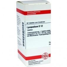 LYCOPODIUM D 12 Tabletten 80 St