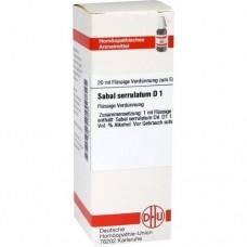 SABAL SERRULATUM D 1 Dilution 20 ml