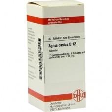 AGNUS CASTUS D 12 Tabletten 80 St
