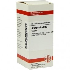 AVENA SATIVA D 12 Tabletten 80 St
