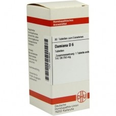 DAMIANA D 6 Tabletten 80 St