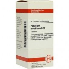 PALLADIUM METALLICUM D 12 Tabletten 80 St