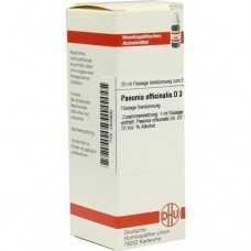 PAEONIA OFFICINALIS D 3 Dilution 20 ml