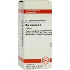 NUX VOMICA C 9 Tabletten 80 St