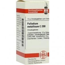PALLADIUM METALLICUM C 200 Globuli 10 g