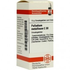 PALLADIUM METALLICUM C 30 Globuli 10 g
