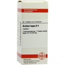 ARCTIUM lappa D 4 Tabletten 80 St