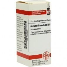 AURUM CHLORATUM D 8 Globuli 10 g
