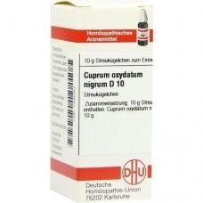 CUPRUM OXYDATUM nigrum D 10 Globuli 10 g
