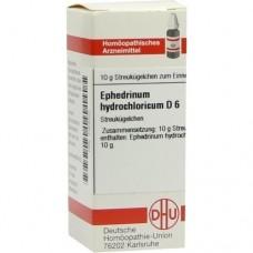 EPHEDRINUM hydrochloricum D 6 Globuli 10 g