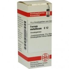 FERRUM METALLICUM C 12 Globuli 10 g