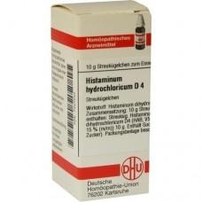 HISTAMINUM hydrochloricum D 4 Globuli 10 g