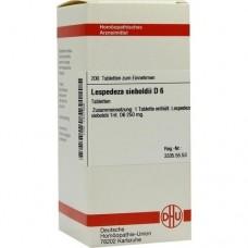 LESPEDEZA SIEBOLDII D 6 Tabletten 200 St