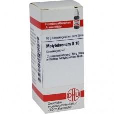 MOLYBDAENUM D 10 Globuli 10 g