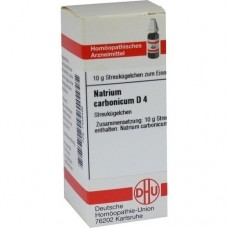 NATRIUM CARBONICUM D 4 Globuli 10 g