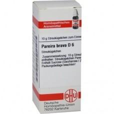 PAREIRA BRAVA D 6 Globuli 10 g