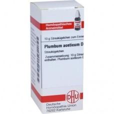 PLUMBUM ACETICUM D 6 Globuli 10 g